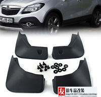 SET FIT FOR BUICK ENCORE OPEL MOKKA 2013-2018 MUD FLAP SPLASH GUARD MUDGUARDS