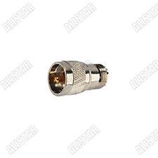 10x UHF SO-239 Female Jack to UHF Male Plug PL-259 RF Adapter Full Copper Nickel
