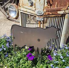 Metal Cow Garden Stake