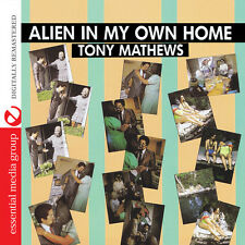 Tony Mathews - Alien in My Own Home [New CD] Manufactured On Demand