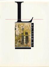 Jean-Pierre Le Boul'ch. Monographie Pernod Mécénat par Daniel Biga, 1990