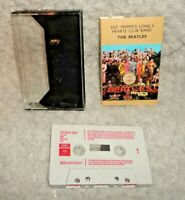 The Beatles Sgt. Pepper's Lonely Hearts Club Band Music Cassette Tape Red