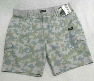 Lee Women's Plus Size Flex-To-Go Relaxed Fit Mid Rise Bermuda Shorts Camo 22W