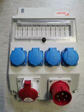 Wandverteiler CEE-Verteiler ROS-11-x29 1xCEE16 Stecker , 1xCEE16 Dose, 4xSchuko