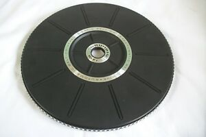 Philips turntable platter and mat, 500 grams together, 27.7 cm diameter