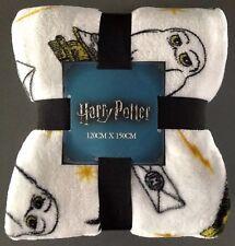 Harry Potter ★ Eule Hedwig Kuscheldecke Fleece Decke Sofadecke Wohndecke Primark