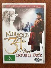 Miracle On 34th Street DVD 2 Films Original & Remake Region 4 New & Sealed