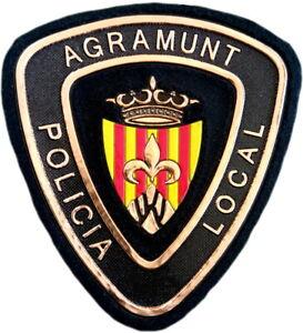 Policía Local Agramunt Police Dept parche insignia emblema texflex EB01587