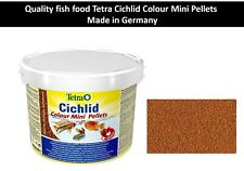 fish food Tetra Cichlid Colour Mini Pellets Complete food for smaller Cichlids