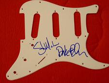 Steve Marker & Duke Erikson Signed Autographed Guitar Pickguard Garbage