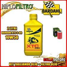 KIT TAGLIANDO 2LT OLIO BARDAHL XTC 10W50 KTM 690 Enduro 1st Oil Filter 690CC 200