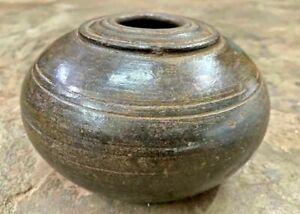 ANCIENT ANTIQUE HANDMADE MUGHAL TERRACOTTA HOOKAH POT TOBACCO SMOKING