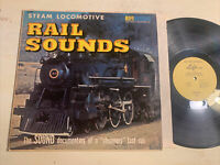 Steam Locomotive Rail Sounds Trains LP Hifirecords Farewell To Steam EX!!!