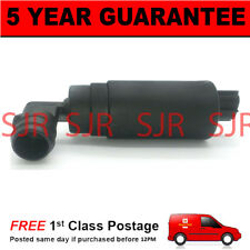 For Honda Land Rover Toyota Windscreen Washer Pump Front OR Rear Single Outlet
