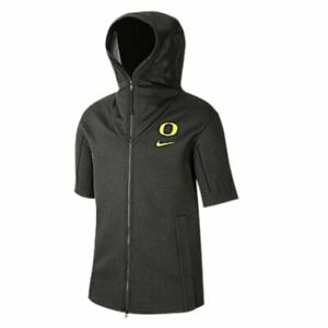 NIKE OREGON DUCKS Official On Field Team Issue Hoodie Poncho AT9731-355 3XL NWT