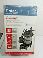 Flotec FPZS50T - 1/2 HP Automatic Submersible Sump Pump w/ Tethered Float Switch