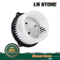 A/C Heater Blower Motor w/Fan Cage for 02-10 Dodge Ram Jeep 02-04 Grand Cherokee