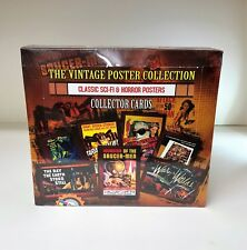 The Vintage Poster Collection Classic Sci-Fi & Horror - Sealed Trading Card Box