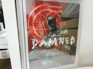 BATMAN: DAMNED #1 CGC GRADED 10 GEM MINT WHITE PAGES 2018 JIM LEE VARIANT COVER