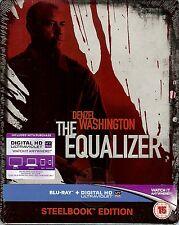 The Equalizer Limited Edition SteelBook Blu-ray + UV (Region A, B & C UK Import)