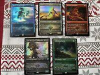 MTG Theros Beyond Death Uncommon FOIL Showcase Set of 5 Legendary Demigods