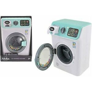 My First Washing Machine With Light And Sound Boys Girls Kids Toy Pretend Play