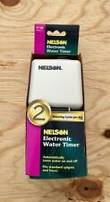 New listing Nelson Electonic Water Timer (#5750) home garden lawn care grass hose spigot