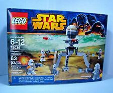 STAR WARS LEGO 75036 UTAPAU TROOPERS ~ NEW & SEALED RARE Orange Clone Commander