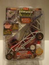 Road Champs Junkyard Wars Transforms Dragster to Rocket Launcher 1:43 C43-21