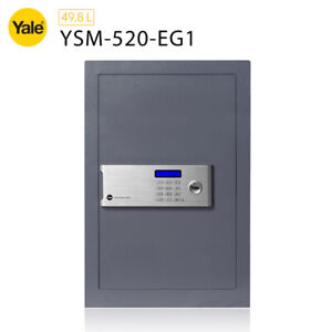 YALE PROFESSIONAL CERTIFIED SAFE HOME OFFICE SECURITY - GREY FINISH - NEW