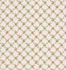 smita Tapete dollhouse 22109 Pequeñas Flores Casa De Campo Papel pared rural