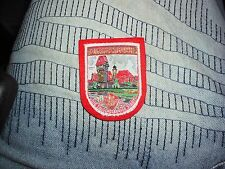 LMH PATCH Woven Badge  DINKELSBUHL 1000 City  DIE TAUSENDJAHRIGE STADT Germany a