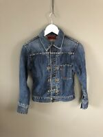 LEVI'S Denim Jacket - Small - Navy - Great Condition - Women's