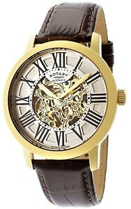 Rotary GLE000013/21S Les Originales Automatic Leather Strap Waterproof RRP £450