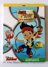 Jake and Neverland Pirates Season 1 V1 Yo Ho Mateys Away! DVD 7 Episodes + Bonus