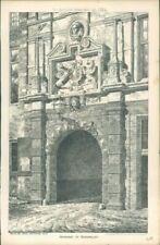 Antique (Pre - 1900) Limited Edition Print Architecture Art Prints