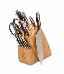 Hammer Stahl 12-Piece Cutlery Essentials with block