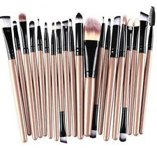 20Pcs Makeup Beauty Brush Set Soft Cosmetic Blush Powder Eyebrow Shadow Kit UK