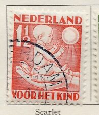 Holland 1930 Early Issue Fine Used 1.5c. 129797