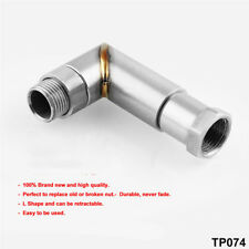 M18 X 1.5 O2 oxygen sensor extender spacer 90 degree angled 02 bung extension