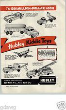 1956 PAPER AD 2 PG Hubley Toy Dump Truck Shovel Cap Gun Automatic Rodeo Deputy