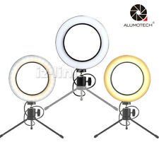 For Phone Live Show Video 64 LED Mini Ring Light With Ball Head Sepless Dimming