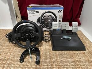 Thrustmaster T300 RS GT Racing Wheel & Pedal Set ( 7 months of warranty to left)