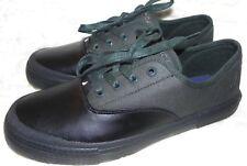 Nautica Men's Deckloom Sneaker Shoe Size 8.5 Black Dark Green New Without B