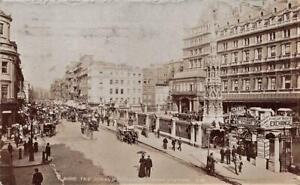 1905 CHARING CROSS Station The Strand LONDON Photo  Postcard