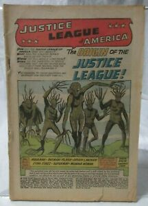 JUSTICE LEAGUE OF AMERICA 80 PAGE GIANT MAGAZINE NO. 8 MARCH 1965 DC