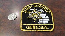 Genesee County MI Michigan Sheriff Dept. patch