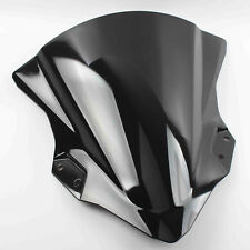 Motorcycle Windshield for KAWASAKI EX400 Ninja400 NINJA400 2018 Black