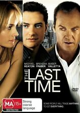 THE LAST TIME, Brendan Fraser, Michael Keaton. Business, Raw Fast Paced, NEW