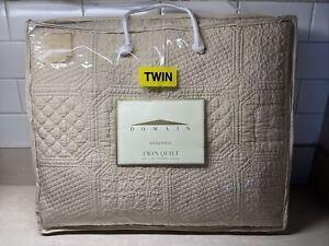 Domain Mykonos Twin quilt 68x86 cotton
